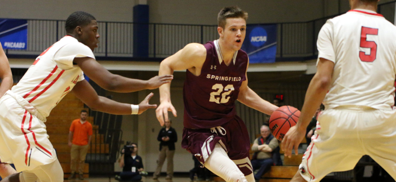 Second-Half Rally Falls Short As Men's Basketball Loses To Amherst, 76-67