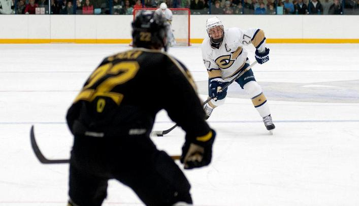 Men's Hockey Sees Winning Streak Come to an End