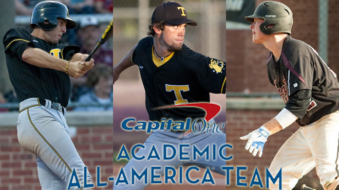 Three SCAC Baseball Student-Athletes Named to Capital One Academic All-District Team