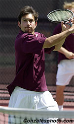 Men's Tennis Falls to No. 10 Washington 7-0