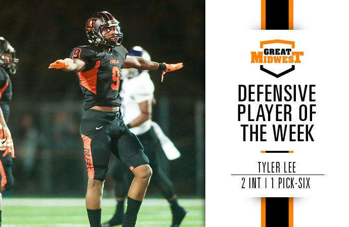 Tyler Lee Earns Defensive Player of the Week