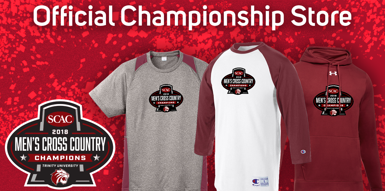 Purchase Trinity University Men's Cross Country Winners Gear