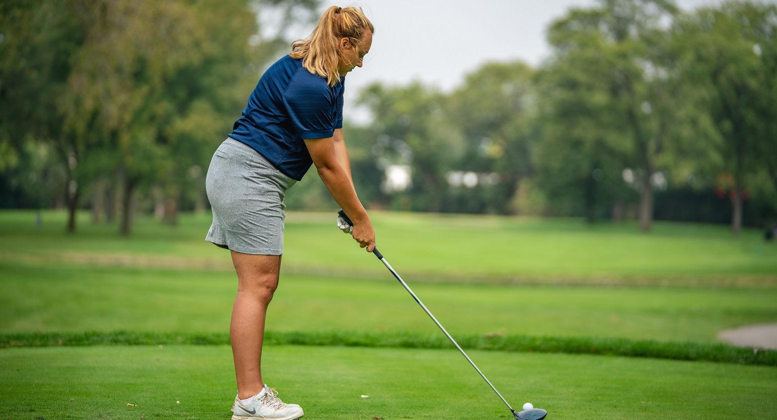 Women's golf finishes third of four at Benedictine Invitational