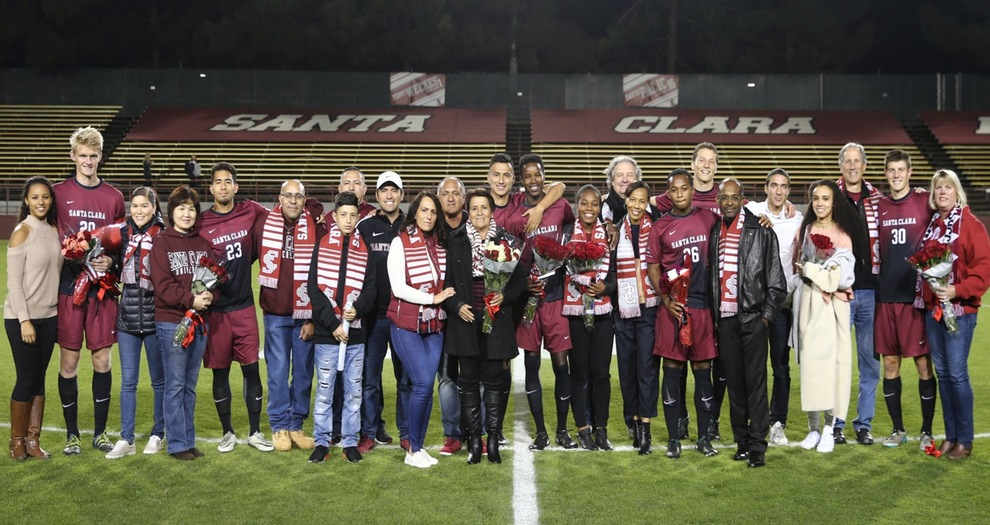 Men's Soccer Sends Off Its Seniors With A 1-0 Win Over San Diego