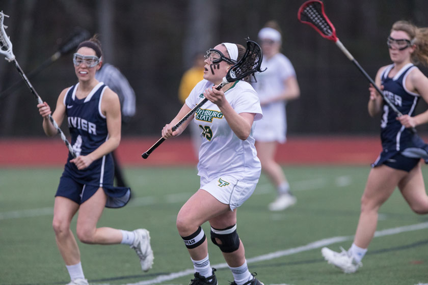 Falcons Fall to Warriors in Women's Lacrosse