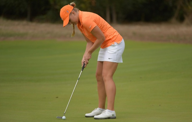 Lundquist Tied for Fifth After Two Rounds at Fresno State Classic