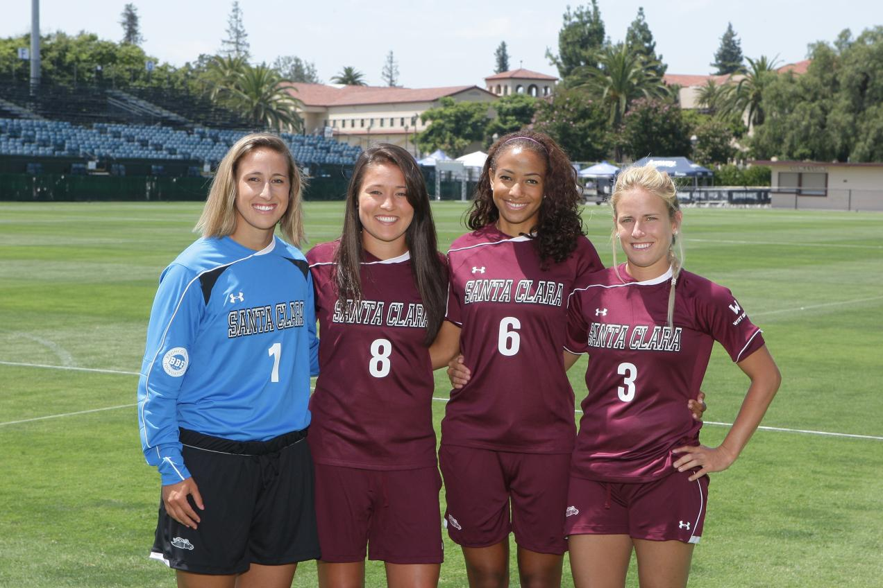 Nationally Ranked Santa Clara Women's Soccer Opens 2011 Season at San Jose State