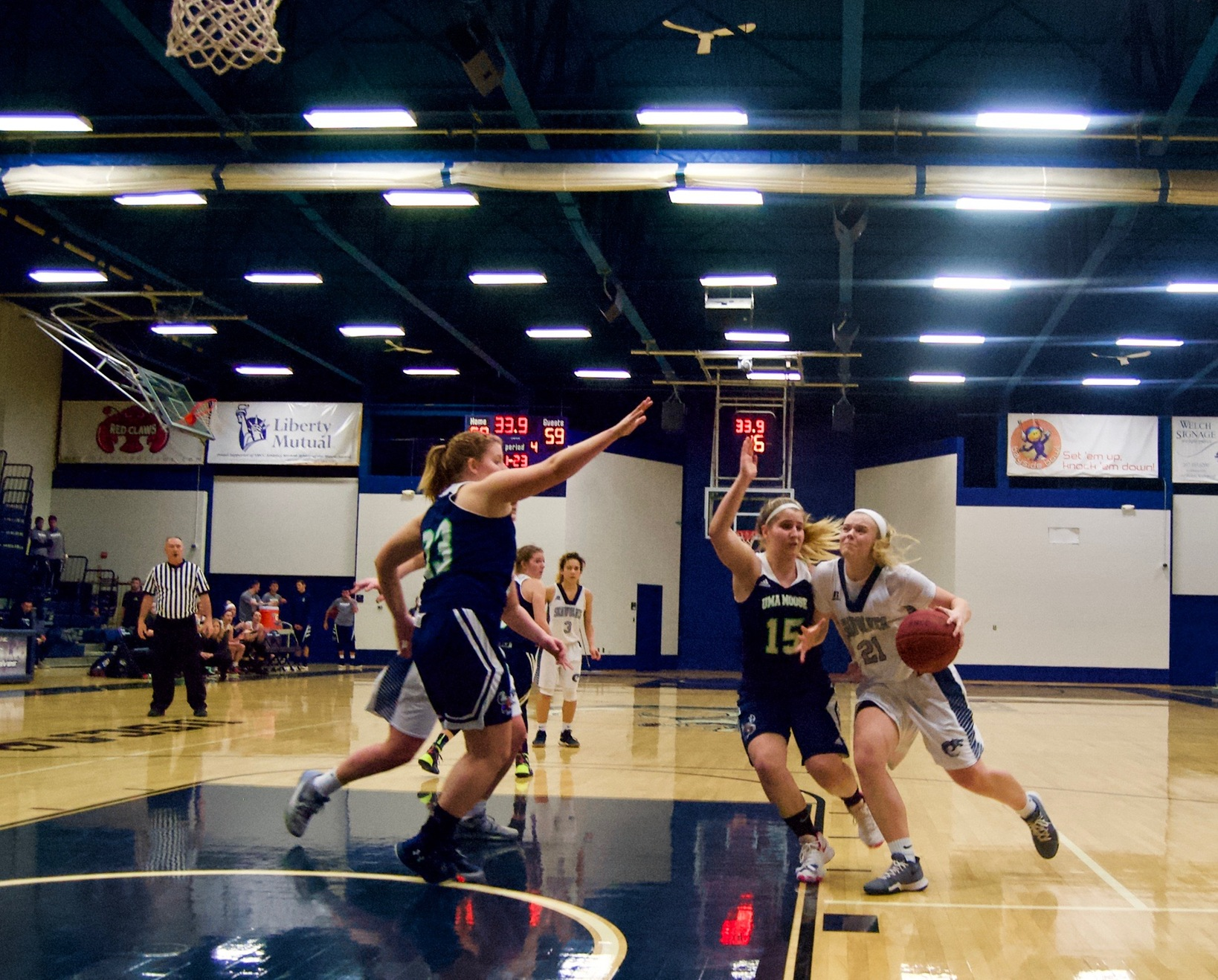 Lady Wolves Stun Moose In Pivotal YSCC Victory