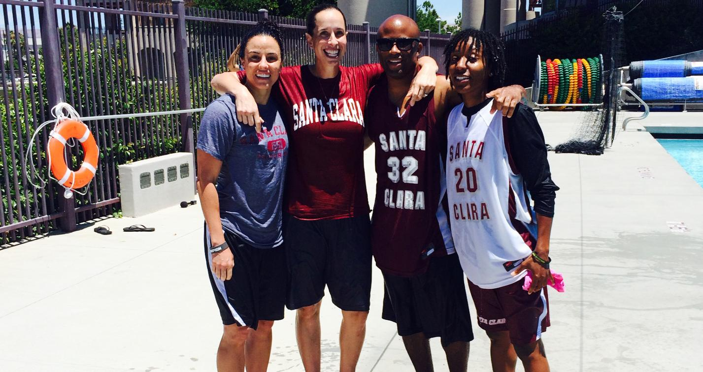 Women's Basketball Staff Takes Part in Chillin'4Charity