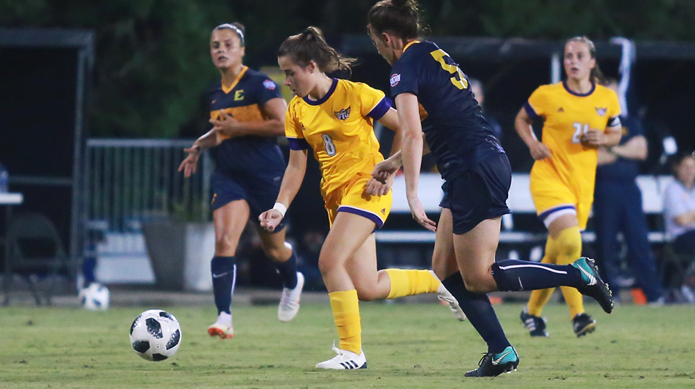 Tech soccer rallies for comeback win over ETSU in home opener