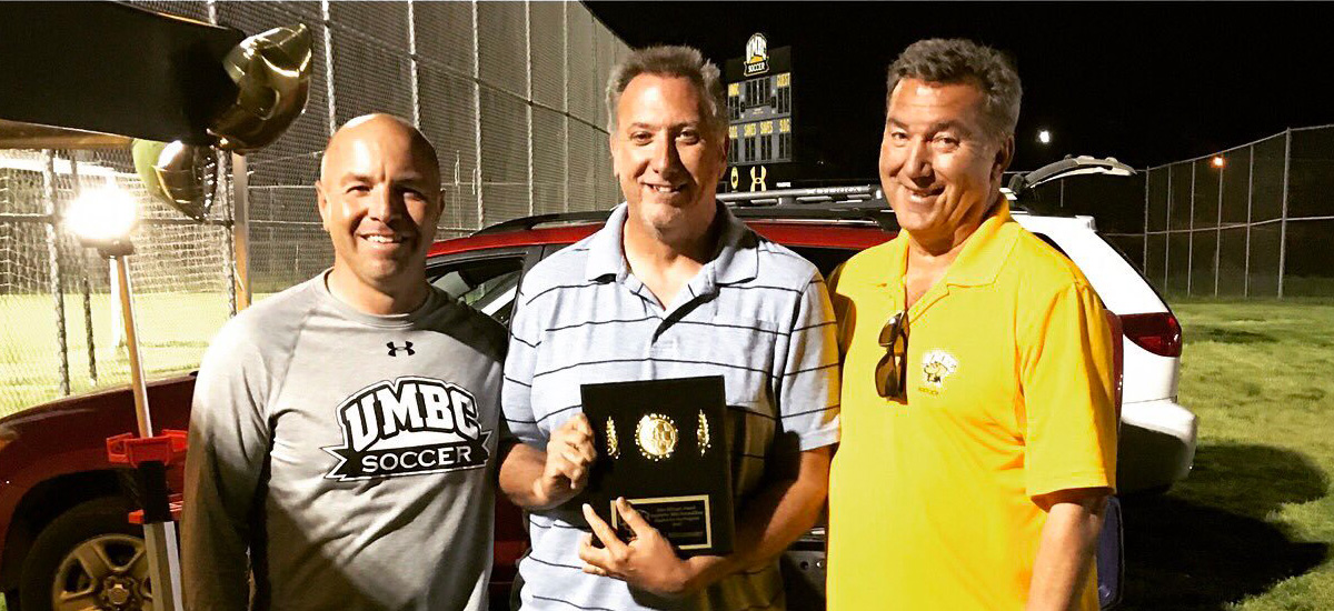 Men's Soccer Honors Marchica, Mittermeier With John Ellinger Award