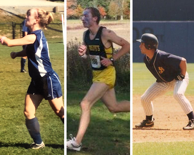 Meghan Brady '09, Tyler Eckhoff '09 and Joseph King '99 to be Inducted into Golden Eagles Hall of Fame