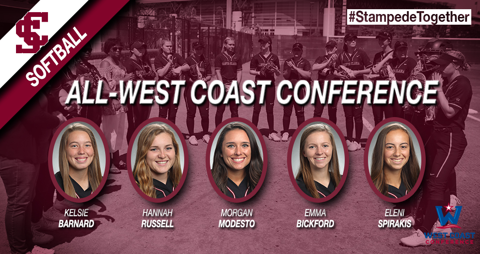 Five Softball Players Bring Home All-Conference Honors