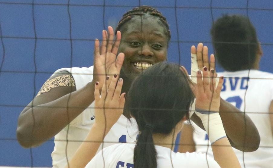 Volleyball Tryouts At San Bernardino Valley College 32