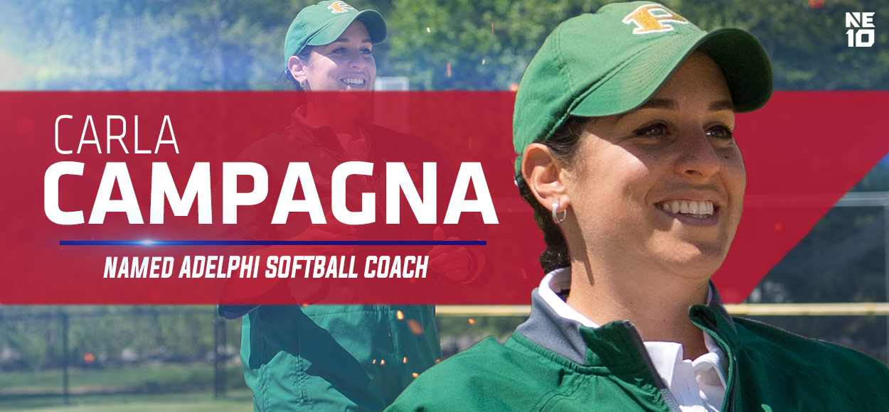 Carla Campagna named Adelphi softball head coach.