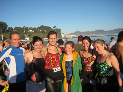 CMS Swimming Alumni Compete From Coast To Coast.