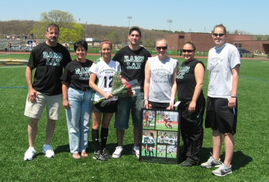 Rokee Leads Team to Undefeated Skyline Record on Senior Day