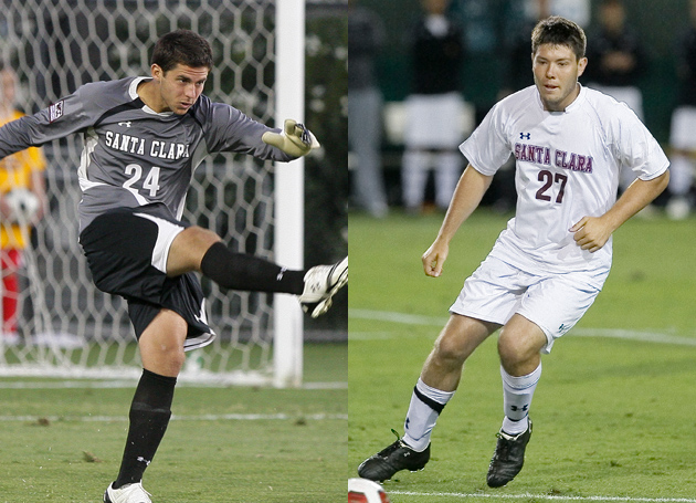 SCU Seniors Eric Masch and Kevin Klasila Recognized by WCC for Academic Excellence