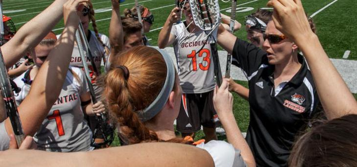 OXY WOMEN'S LAX ALREADY CONTENDING IN THIRD YEAR