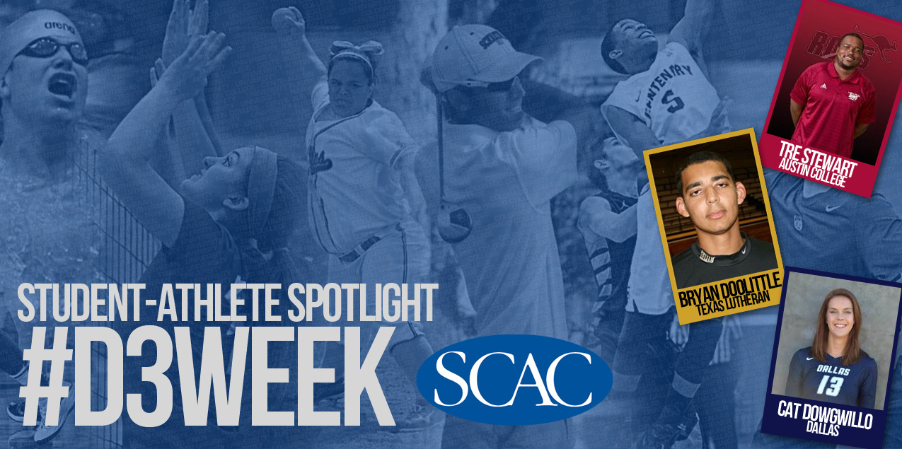 SCAC Celebrates NCAA Division III Week - Day Four