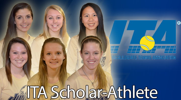 Women's Tennis Earns Six ITA Scholar-Athlete Honors