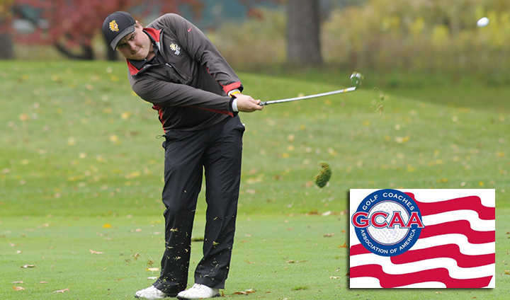 Ferris State's Trent Davison One Of Region's Top Golfers This Year