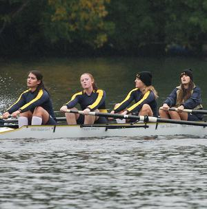 Women's Crew Completes Fall Schedule With Solid Finish At Amherst Fall Invitational