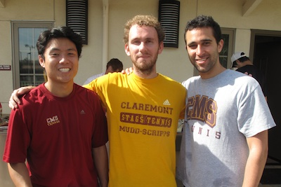 Lawrence Wang (CMC '09), Mike Starr (HMC '10), and Ryan Berber (CMC '09)