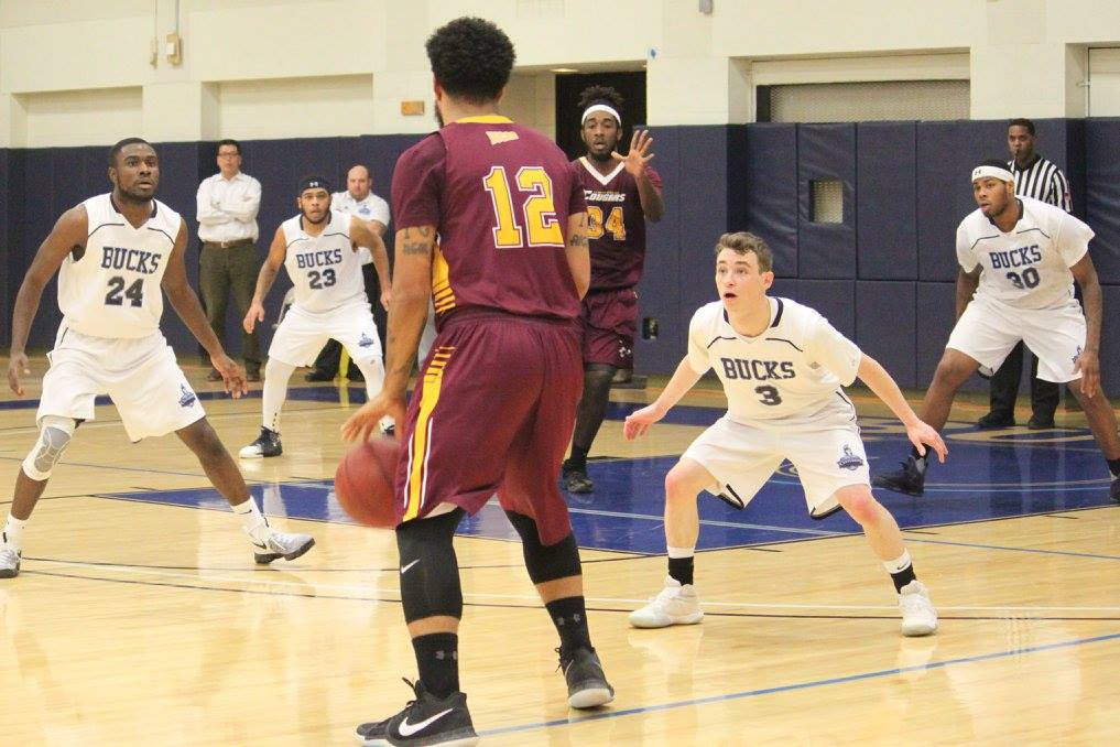 Men's Basketball Defeats Thaddeus Stevens