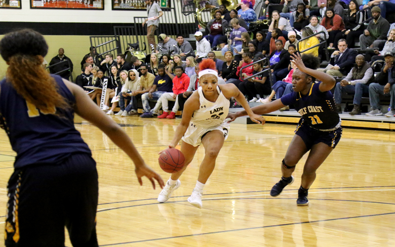 Lady Warriors Win 4th Straight 76-72 Over Gulf Coast