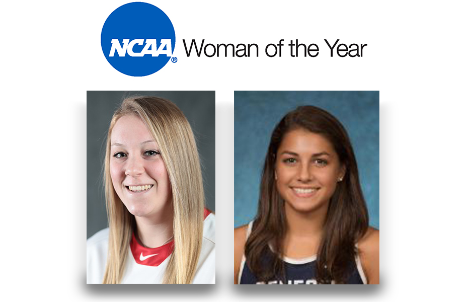 Groat and Ramirez recognized as conference honorees for 2019 NCAA Woman of the Year award