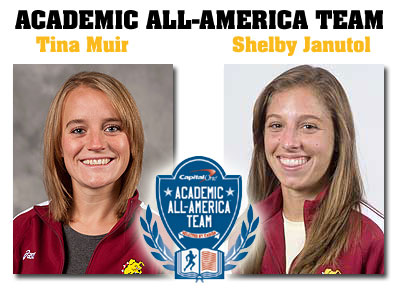 Muir, Janutol Tabbed Academic All-Americans