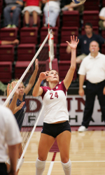 Bronco Volleyball Upsets No. 14 San Diego, 3-1