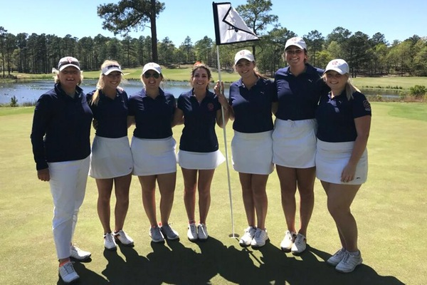 Eagles tie for fifth at SAC Championship