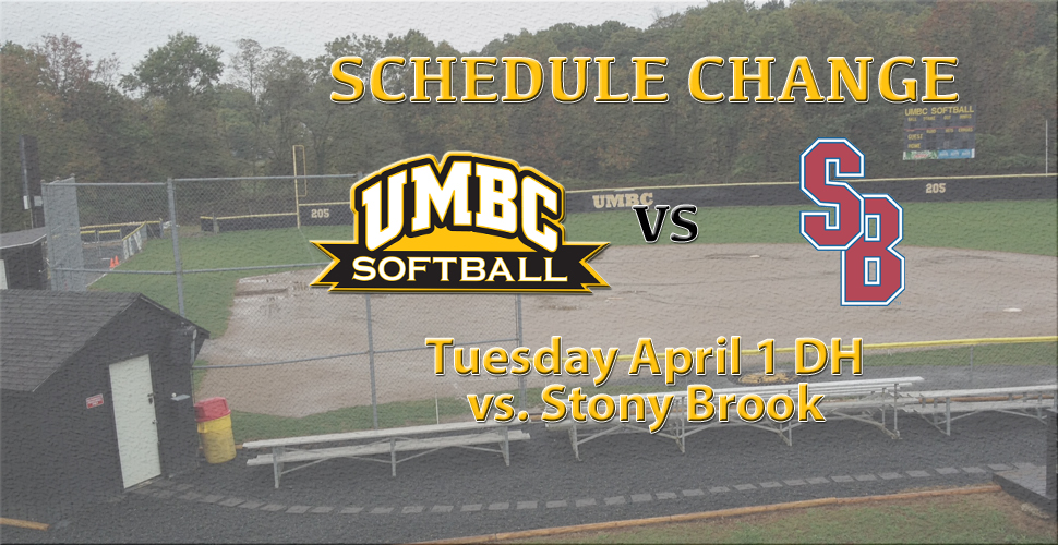 Field Conditions Postpones UMBC Series Against Stony Brook to Tuesday