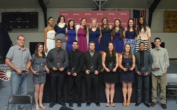 Eureka Holds Golden Tornado Awards Banquet