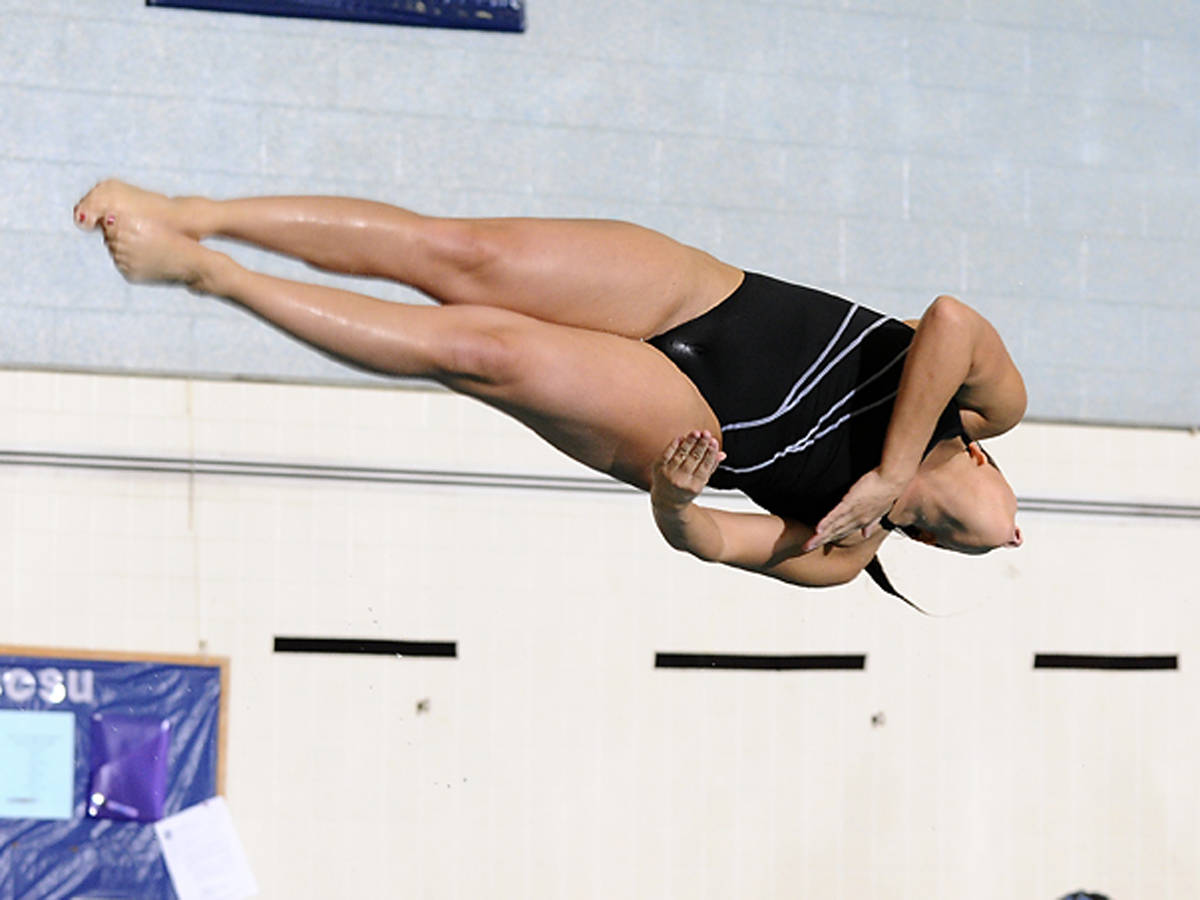 Rossi Is Northeast Conference Diver of the Week Again