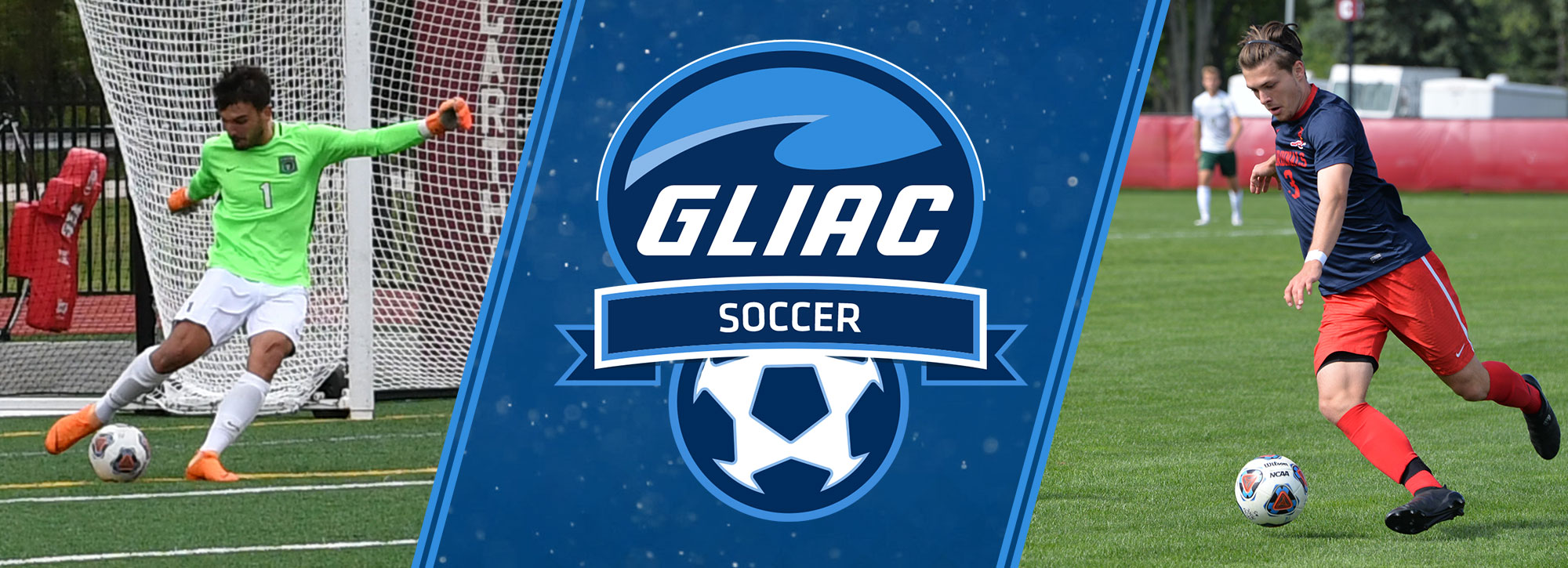 Saginaw Valley's Gloshen, Parkside's Gonzalez Notch GLIAC Men's Soccer Weekly Awards