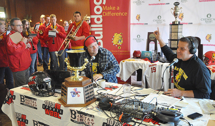 Ferris State Welcomes WBBL's Bakita & Bentley For Live Show