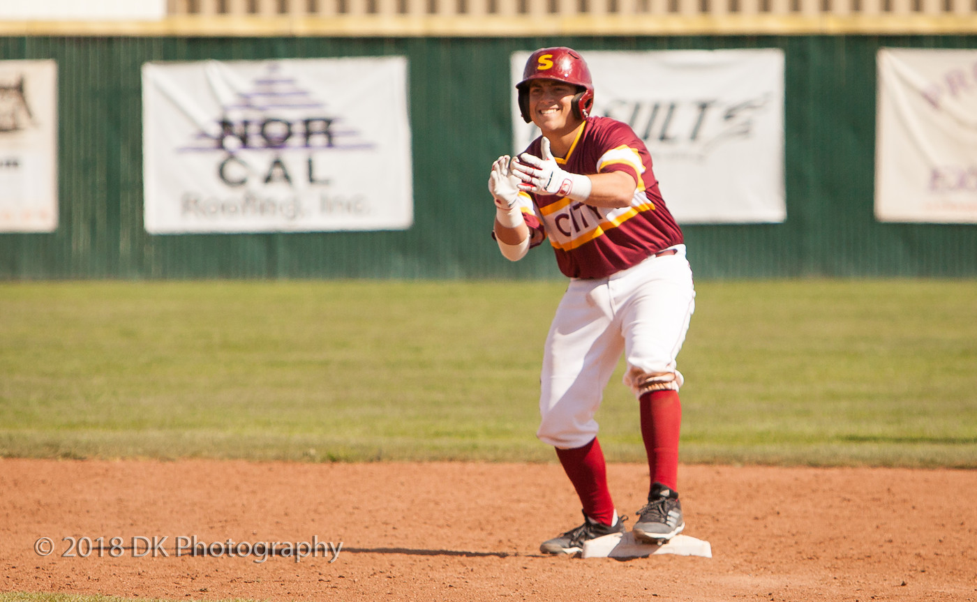 City beats Orange Coast (6-4) in the CCCAA Baseball State Championship opening game in Fresno