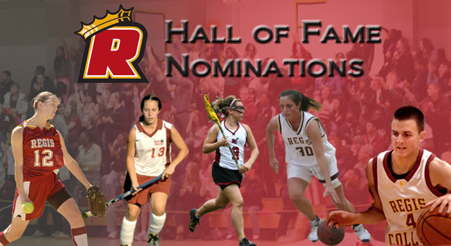 REGIS ATHLETICS LOOKING FOR HALL OF FAME NOMINATIONS