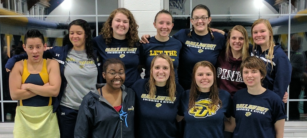 Gallaudet women's team finishes fifth at 2017 NEAC championships