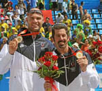 Come Welcome Home Olympic Gold Medalists Todd Rogers and Phil Dalhausser!