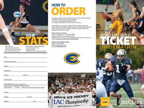 2014-15 Ticket Brochure