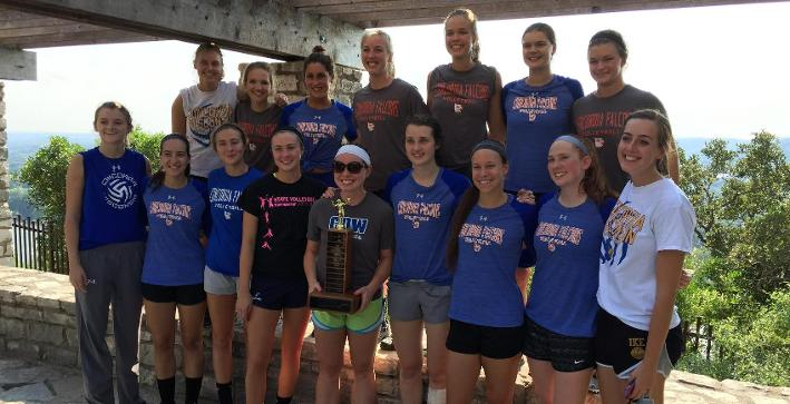 Volleyball captures CIVT title