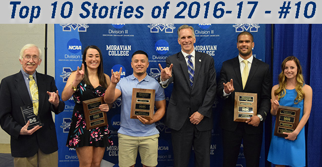 Top 10 Stories of 2016-17 - #10 Moravian Honors Senior Athletes