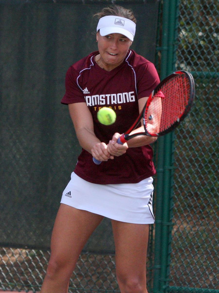 Women's Tennis Notches Pair Of 9-0 PBC Wins On Sunday