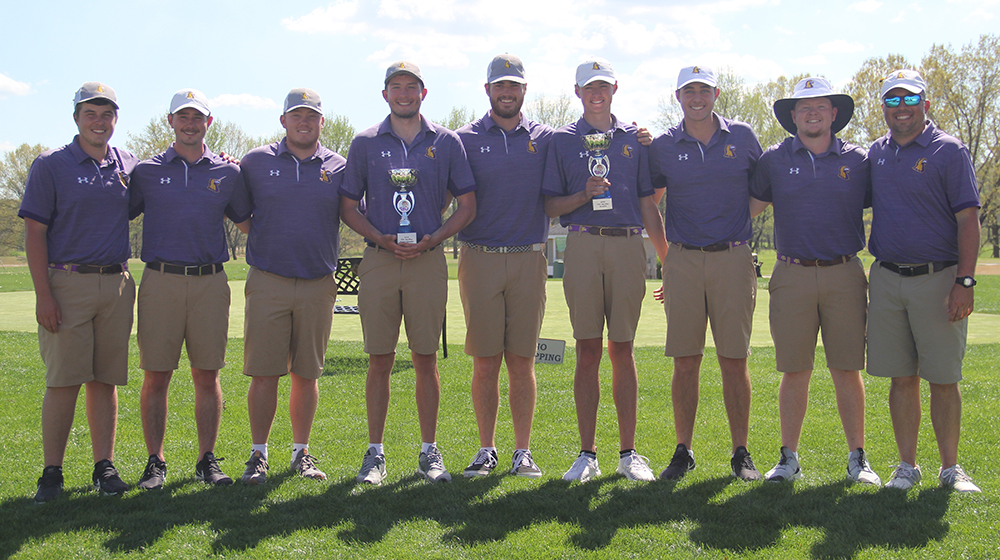 Tech wins Big Blue Intercollegiate title, Beeler claims medalist honors