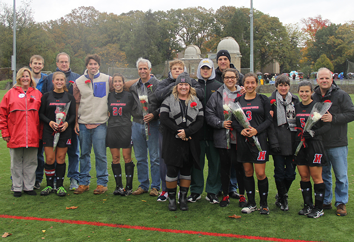 Field Hockey Storms Past McDaniel on Senior Day, 4-1