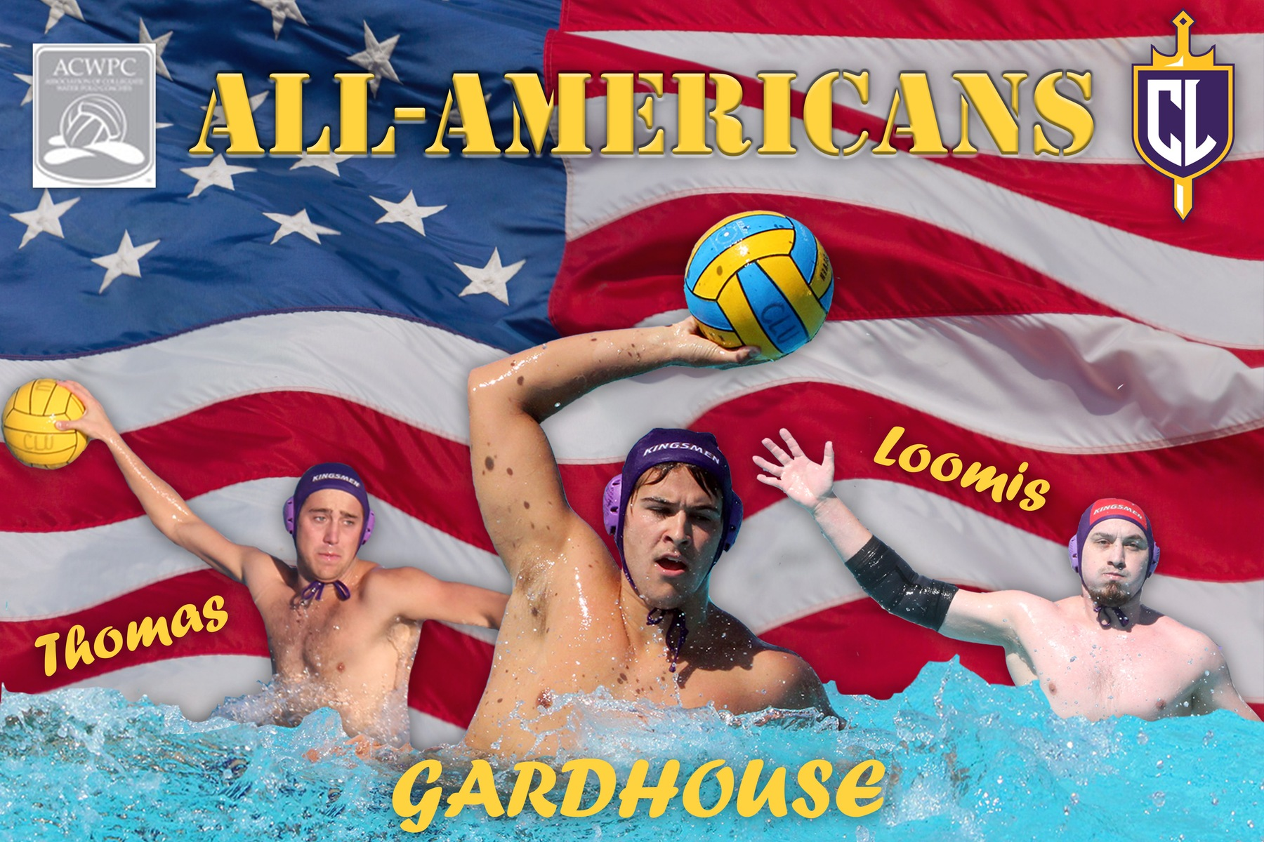Gardhouse, Loomis and Thomas Named ACWPC All-Americans